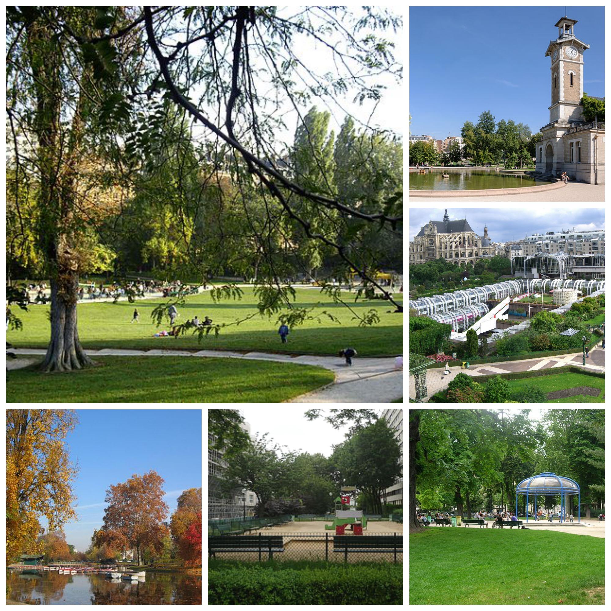 Paris les espaces verts accessibles aux chiens tenus en for Espace vert paris