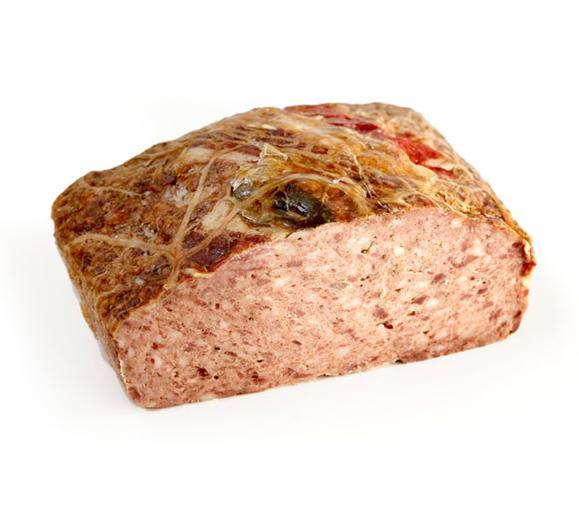 pâté de foie menu de fête chien