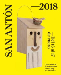 cartel san anton 2018 madrid