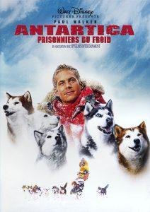 affiche film antartica prisonniers du froid